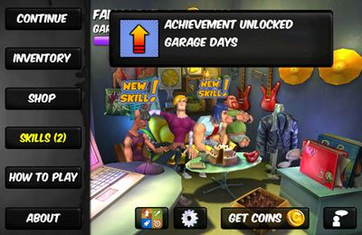 Screenshot Werde berühmt: Musik RPG auf dem iPhone