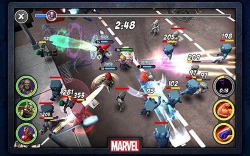 Онлайн игры Marvel: Mighty heroes на русском языке