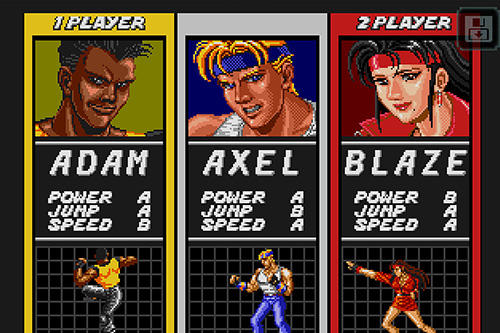 Streets of rage classic für Android
