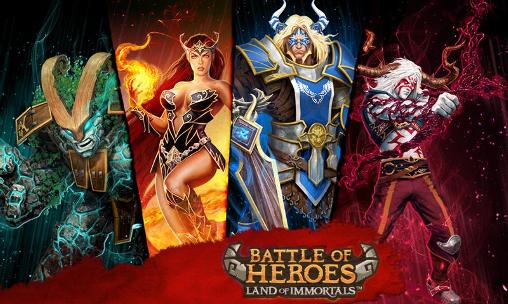 アイコン Battle of heroes: Land of immortals