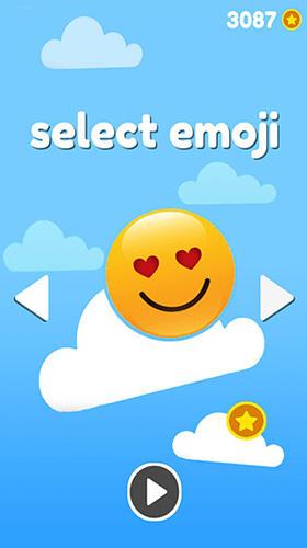 Arcade Emoji sliding: Jumping down für das Smartphone