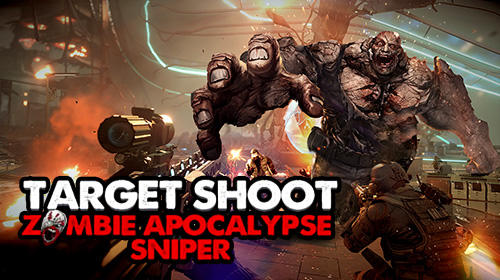 Target shoot: Zombie apocalypse sniper screenshot 1