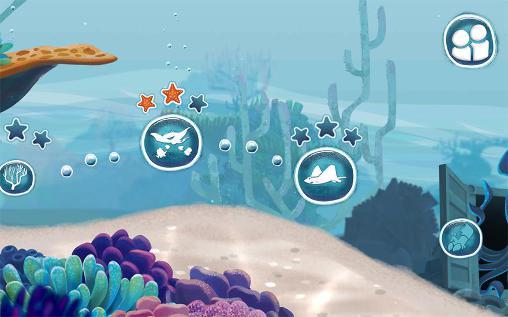 Arcade-Spiele Disney. Finding Dory: Just keep swimming für das Smartphone