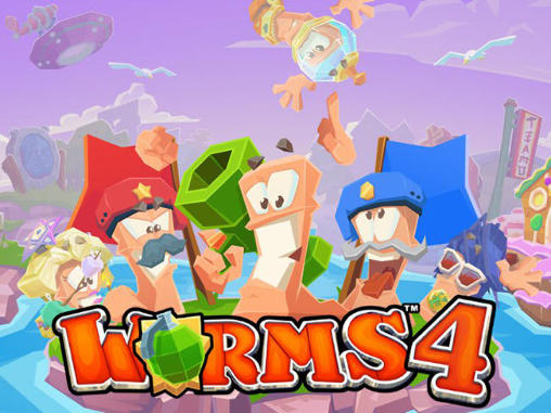Worms 4 captura de pantalla 1