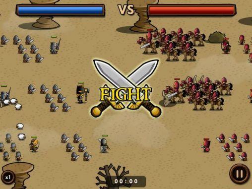 Online Mini warriors für das Smartphone