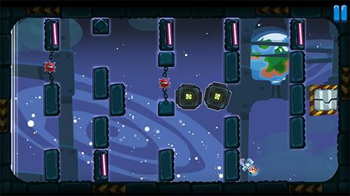 Arcade-Spiele Gravity mess für das Smartphone