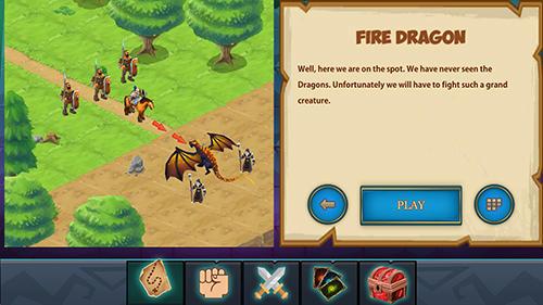 Brettspiele Saga CCG: Dust and magic für das Smartphone