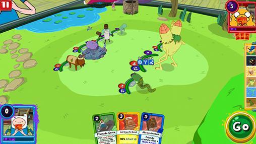 Adventure time: Card wars kingdom для Android