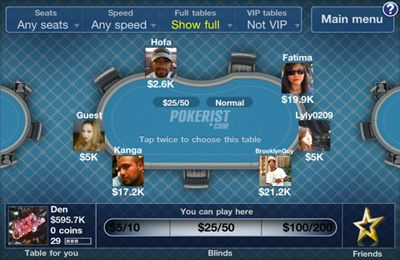 Pokerist Pro for iPhone for free