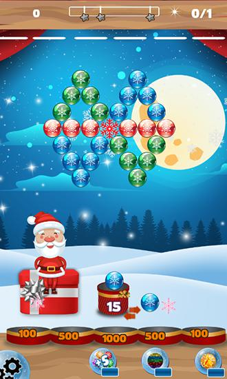 Bubble shooter: Frozen puzzle скріншот 3