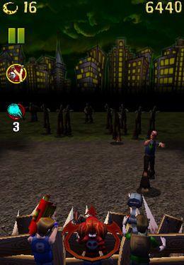 Screenshot Kinder gegen Zombie auf dem iPhone