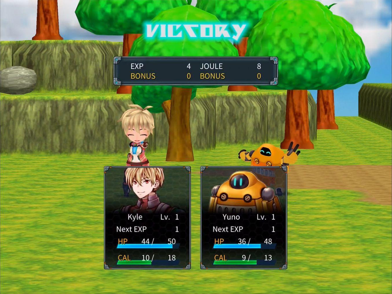 RPG Dimension Cross captura de pantalla 1
