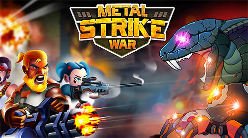 Metal strike war: Gun soldier shooting games screenshot 1