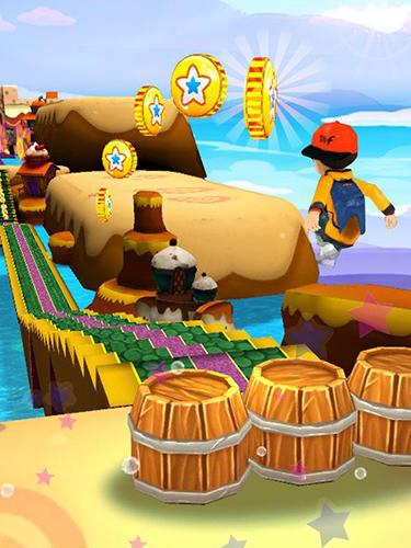 Run run 3D 3 captura de pantalla 1