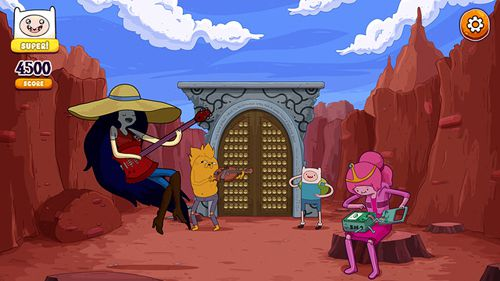 Rockstars von Ooo: Adventure Time Rhythmus-Spiel auf Deutsch
