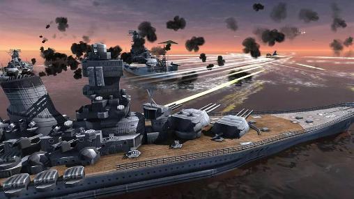 Spiele mit Schiffen World warships combat auf Deutsch
