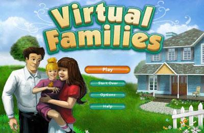 логотип Виртуальная Семейка