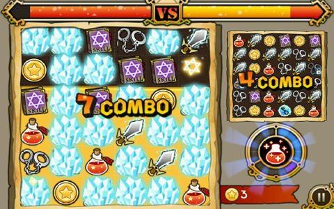 Arcade: download Witch wars to your phone