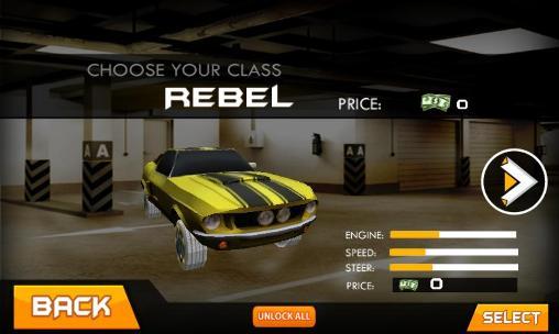 Simulation Crazy taxi driver: Rush cabbie für das Smartphone