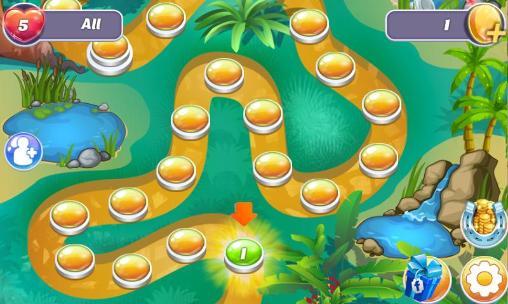 Arcade-Spiele Gems and dragons: 3 candy für das Smartphone