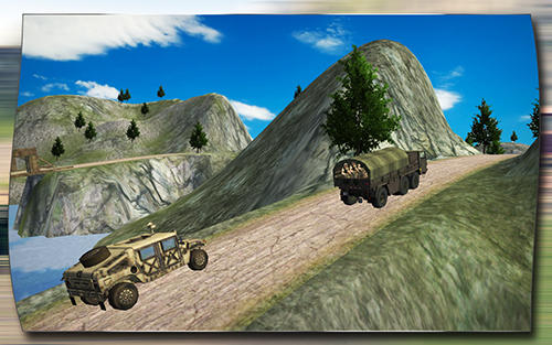 Army truck driver 3D para Android