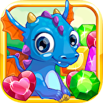 Gems and dragons: 3 candy Symbol
