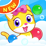 Meow pop: Kitty bubble puzzle Symbol