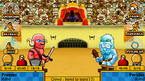 Swords and sandals mini fighters! für Android