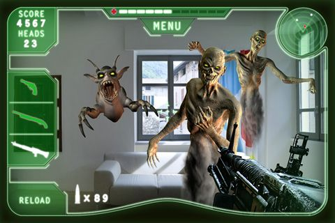 Komplett saubere Version Monster Killer ohne Mods Shooters