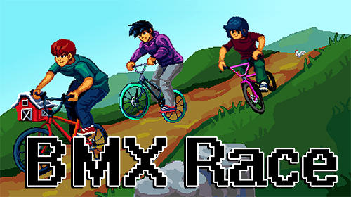 BMX race capture d'écran