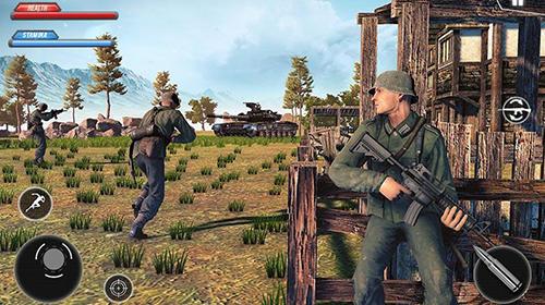 Shooter WW2 US army commando survival battlegrounds auf Deutsch