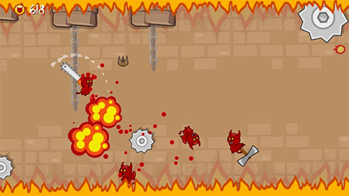 Ninja shurican: Rage game Screenshot