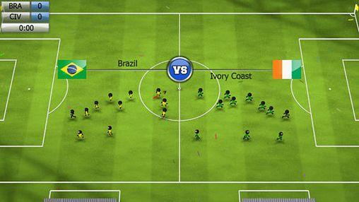 Simulation: Lade Strichmännchen Fußball 2014 auf dein Handy herunter
