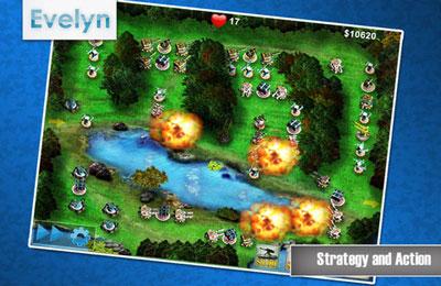 Strategiespiele: Lade Schlachtfeld Verteidigung auf dein Handy herunter