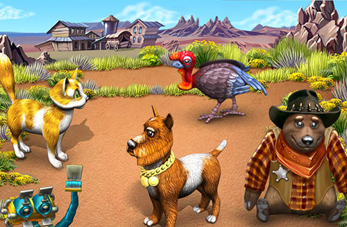 Farm frenzy 3: American pie для Android