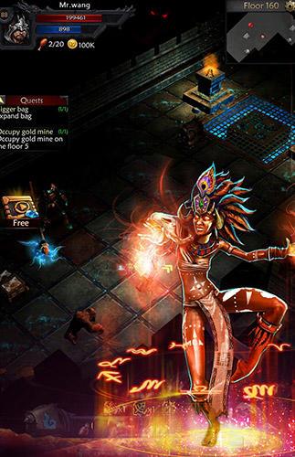 Action RPG Sniper hell: King of dark. Survival auf Deutsch