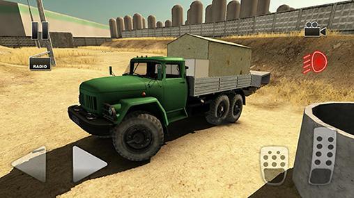 トラック・ドライバー:クレイジー・ロード 2 スクリーンショット1