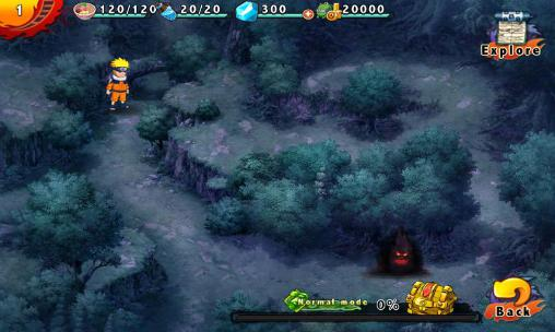 World of ninjas: Will of fire for Android