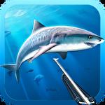 Hunter underwater spearfishing Symbol