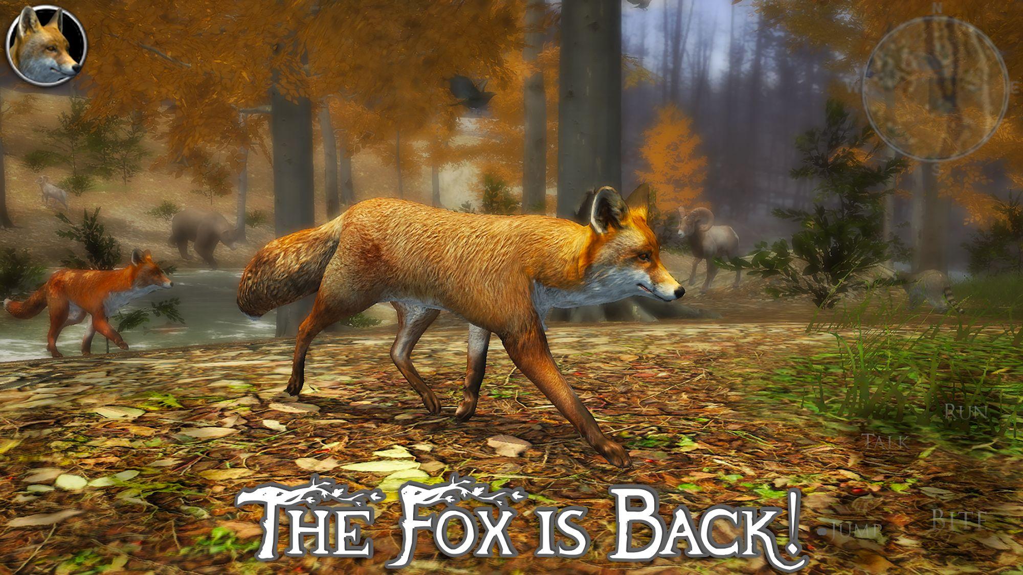 Ultimate Fox Simulator 2 captura de pantalla 1