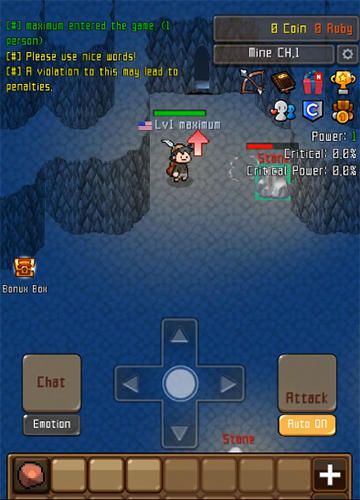 Grow stone online: Idle RPG für Android