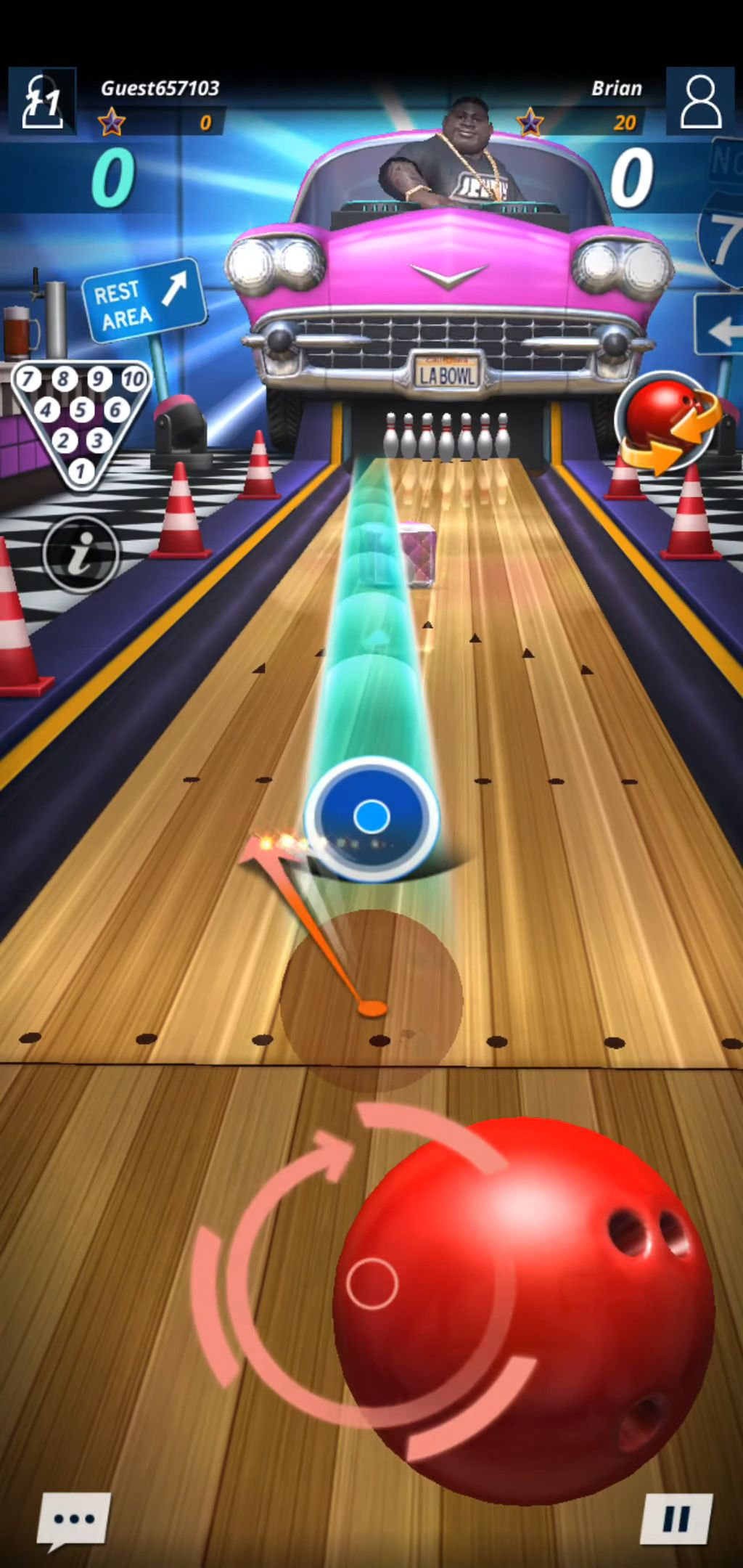 Bowling Star: Strike captura de pantalla 3