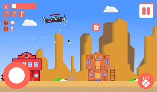 Sky delivery: Endless flyer für Android