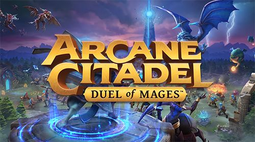Captura de tela Cidadela Arcana: Duelo de magos no iPhone