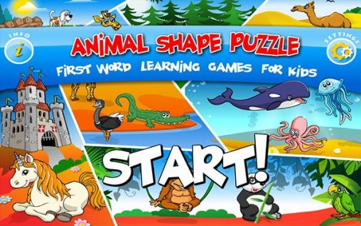 Kids animal preschool puzzle l Screenshot