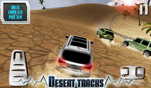 Desert off road captura de pantalla 1