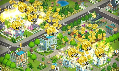 Wirtschafts-Strategie Monopoly towns auf Deutsch