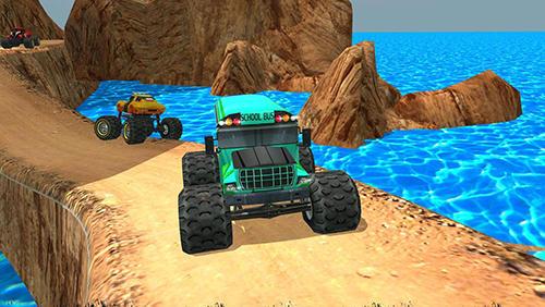 Off road hill truck madness Screenshot