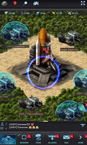 Online games Mobile strike for smartphone