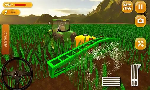 Simulation Tracteur de ferme: Simulateur 2017 pour smartphone